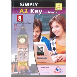 2020 Simply A2 Key for Schools Practice Test (全彩色8回合)-Student