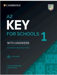 A2 Key for Schools 1 for the Revised 2020 Exam Student